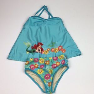 Disney Little Mermaid Tankini Ocean Beauty Swim